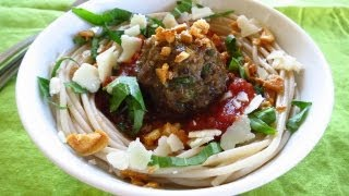 How to Make (the best) Gluten Free Spaghetti and Meatballs - Recipe & Brand Rec