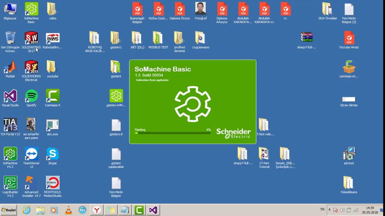 Schneider m221 plc & C# ModbusTCP communication by Abdullah KARAKAYA