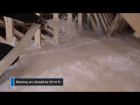 The Right Way to Insulate Attics with Blown-in Insulation