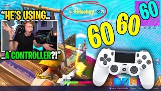 I spectated an OLD SCHOOL controller player and was SHOCKED at how good he was... (must see)