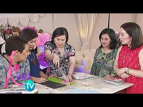 Kris TV: How to make a scrapbook