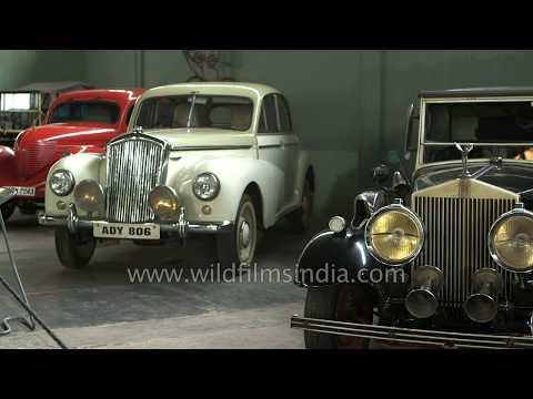 Hyderabad : Vintage cars on display at Sudha Car Museum