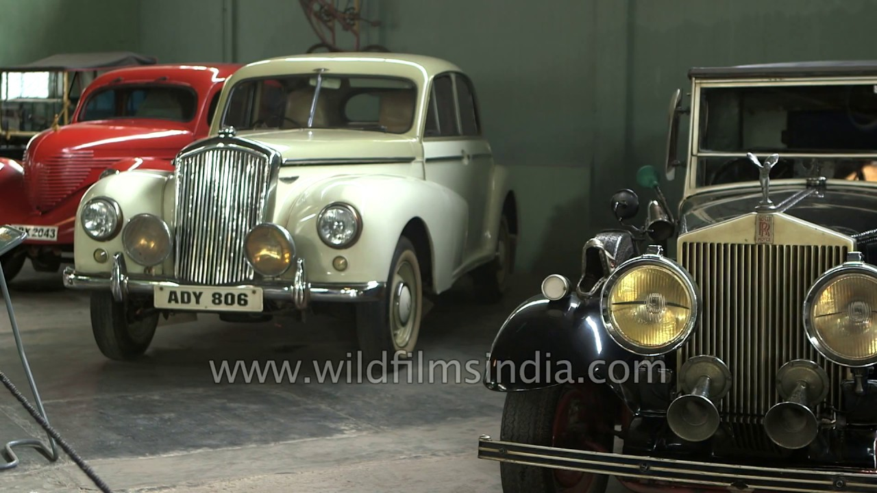Hyderabad : Vintage cars on display at Sudha Car Museum - YouTube