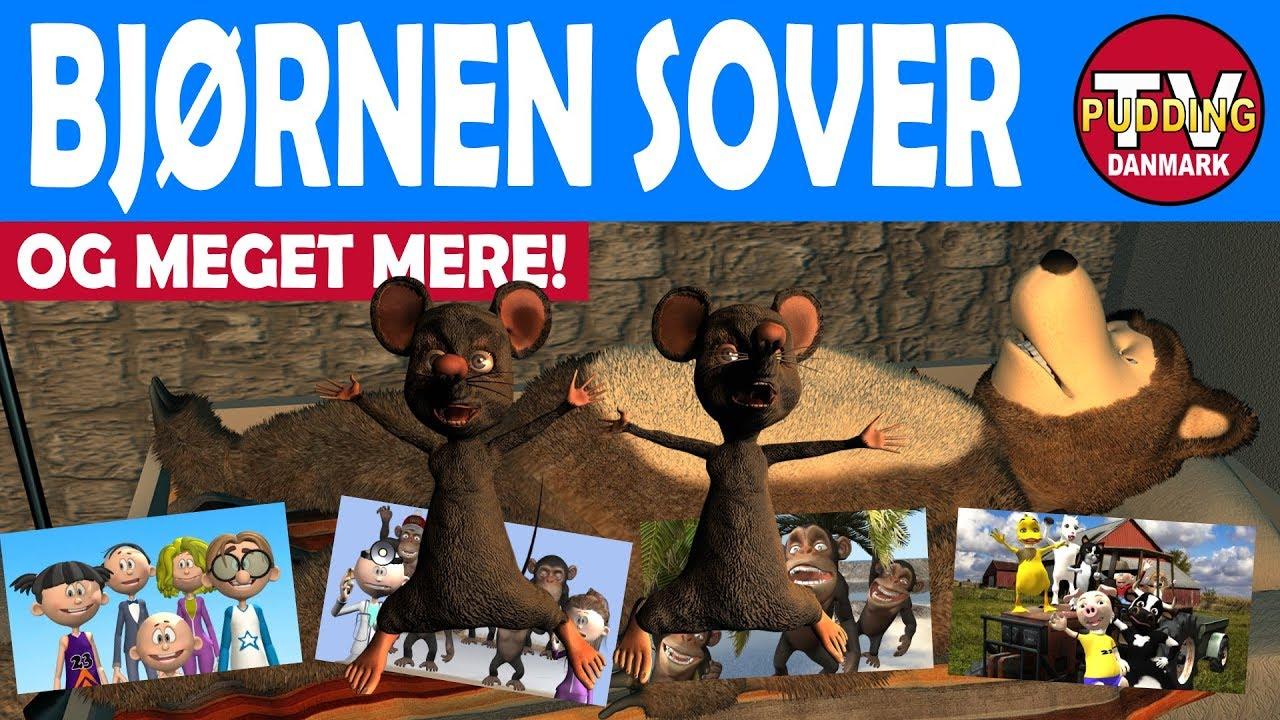 Bjørnen sover - og meget mere | Danske børnesange 3D