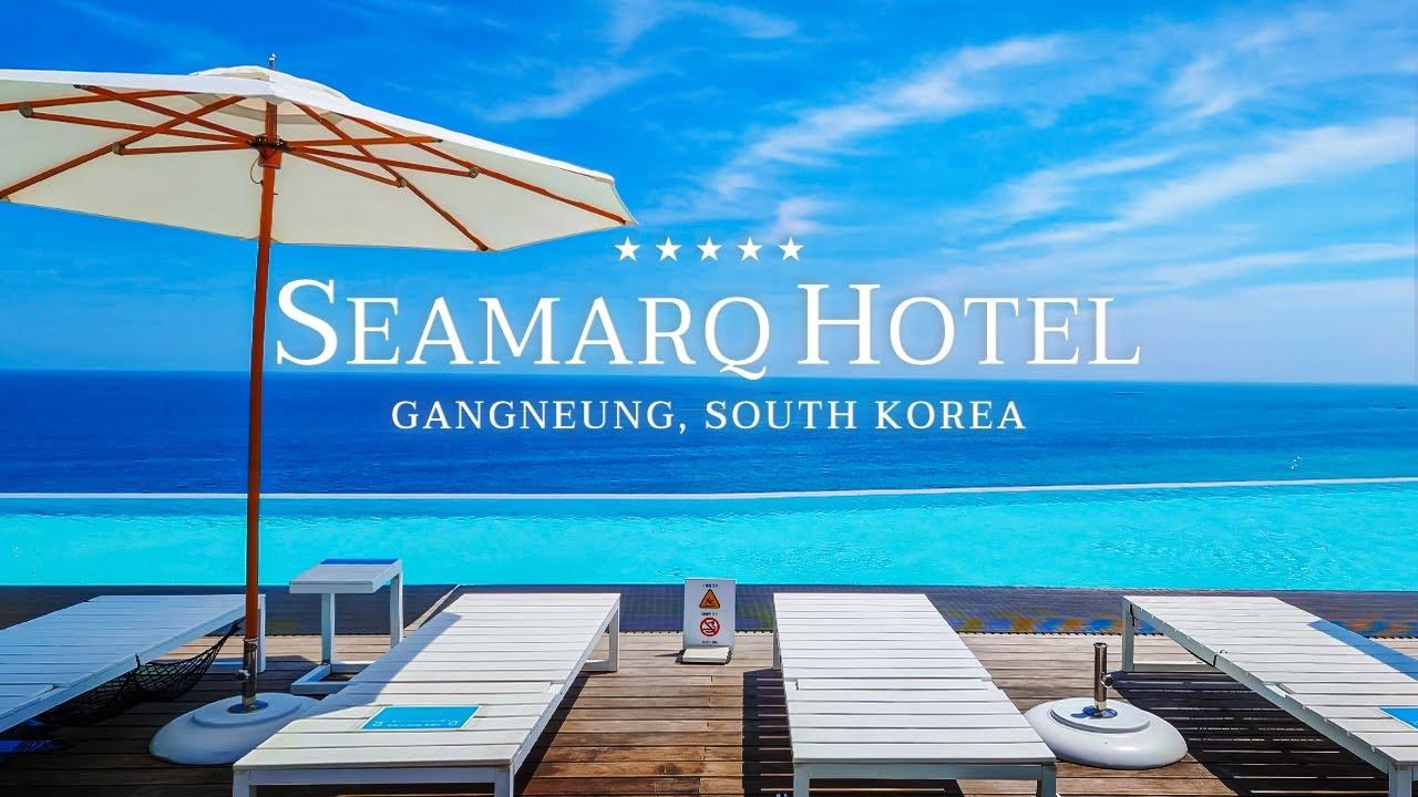 [여유필름🌊] SEAMARQ HOTEL, 강원도 최고의 럭셔리 오션뷰 호텔 Gangneung, South Korea