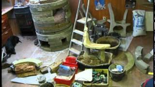 Masonry Heater Stove (alternative Build)   German- Grundofen