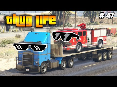 GTA 5 ONLINE : THUG LIFE AND FUNNY MOMENTS (WINS, STUNTS AND FAILS #47)