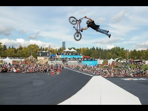 2016 UCI BMX Freestyle Park World Cup / Edmonton (CAN)