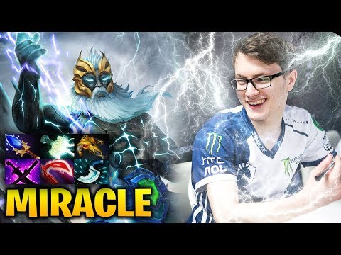 Miracle Zeus: No One Can Stop His Lightning Dota 2 7.17