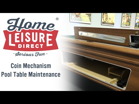 Basic Coin-Mech Pool Table Maintenance
