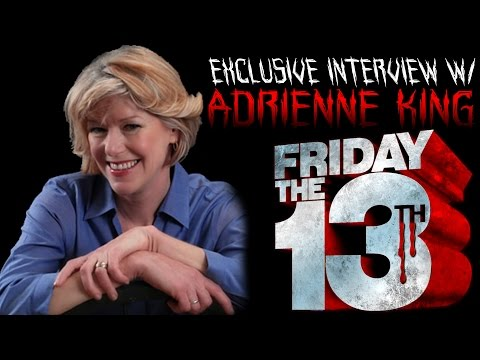 EXCLUSIVE  with ADRIENNE KING  Star of Friday the 13th 1980  Slash 'N Cast
