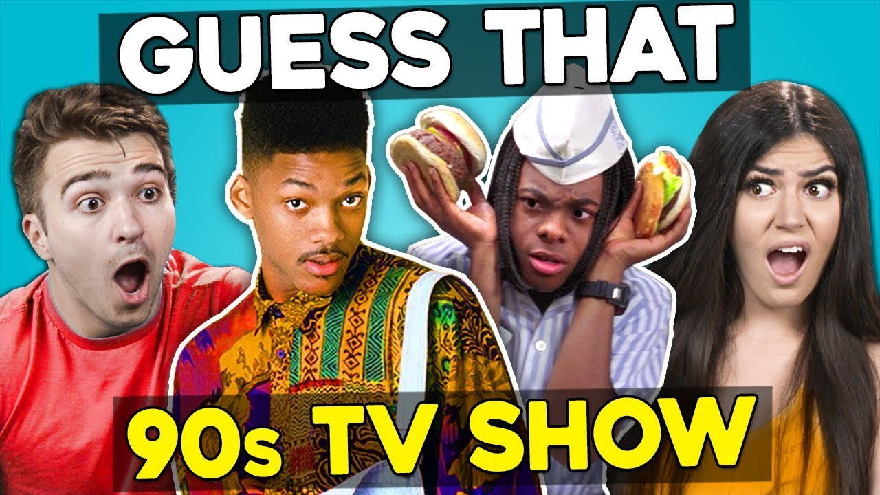 Guess That 90s TV Show Challenge