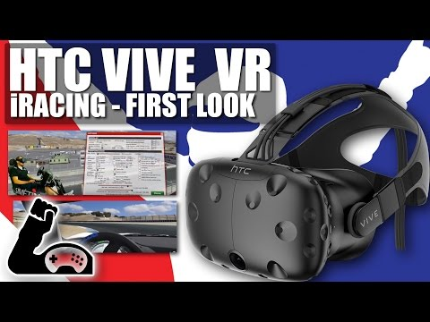 iRacing - HTC VIVE Virtual Reality Implementation - Review