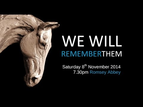 Romsey Choral Society - We Will Remember Them - November 8th 2014, Romsey Abbey