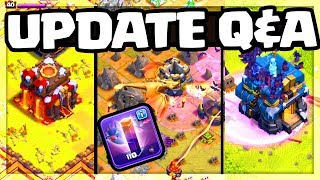 UPDATE Q&A! Is There MORE to the Clash of Clans Update / Sneak Peeks?