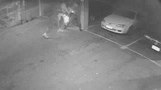 CCTV: A man is shot four times outside a gay sex club in Australia