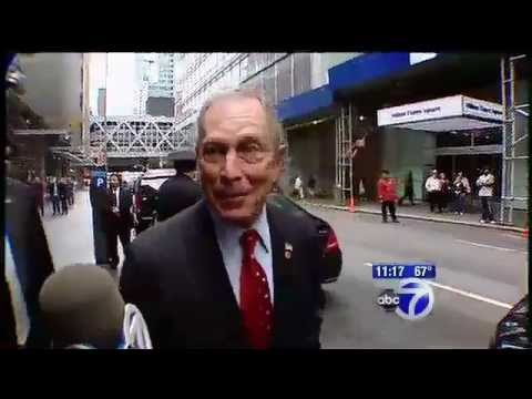 Citizen Shows Mayor Michael Bloomberg He Is Not Above The