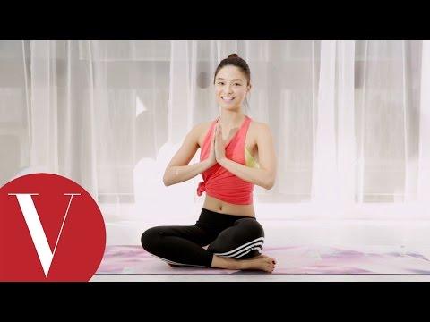 Mystery Yoga的Kate老師分享三招皮拉提斯動作讓你全身線條更緊實