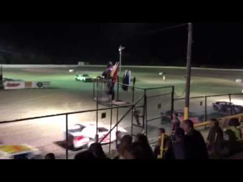 Sport Mod Feature Part 3 after cautions... Casey Capps 5 Grayson County Speedway