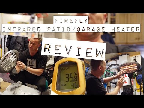Firefly Infrared Patio, Halogen Garage Heater Review
