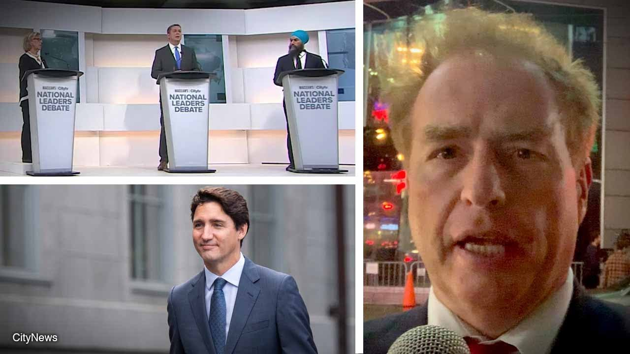 """Election debate without Justin Trudeau was """"pointless"""" 