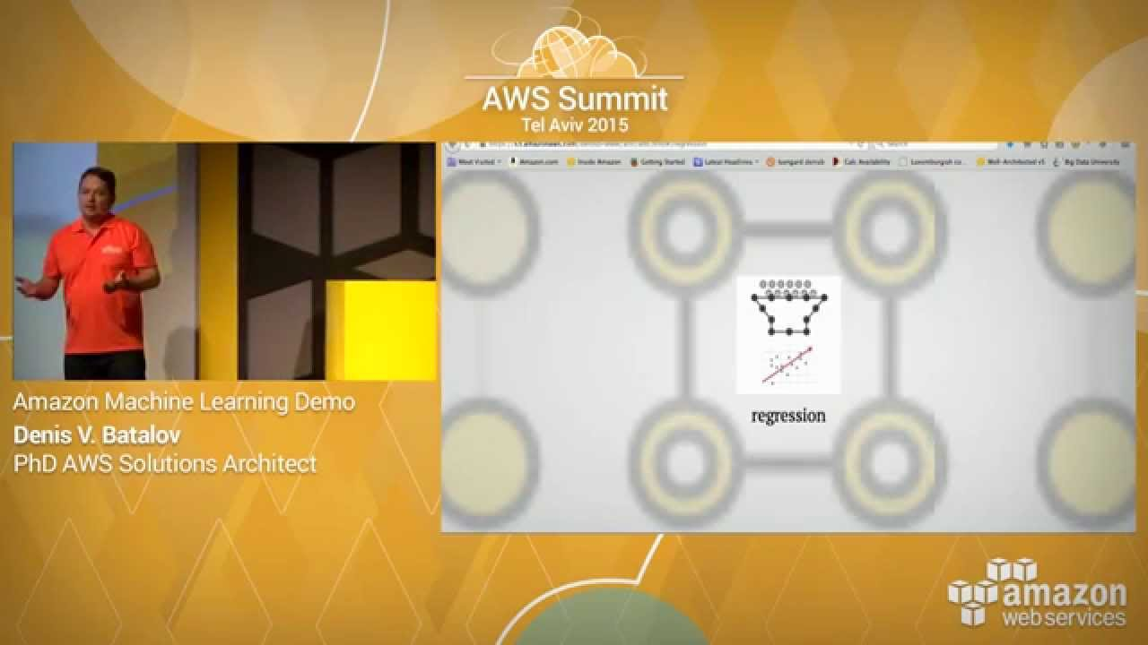 Aws Summit Series 2015 Tel Aviv Amazon Machine Learning Demo