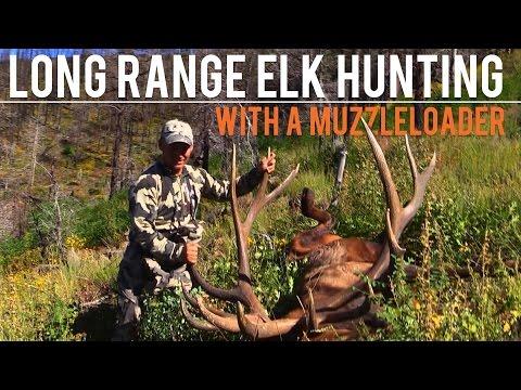 Long Range Elk Hunting | With a Muzzleloader - YouTube