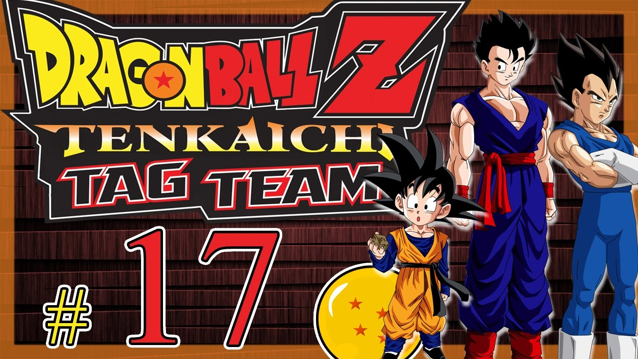 psp dragon ball z tenkaichi tag team 17 modo historia