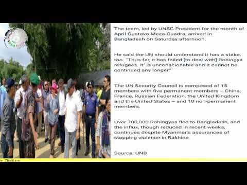 Today 30 April 2018#English News Translation In Rohingya Language By Mr Sherif Arakani