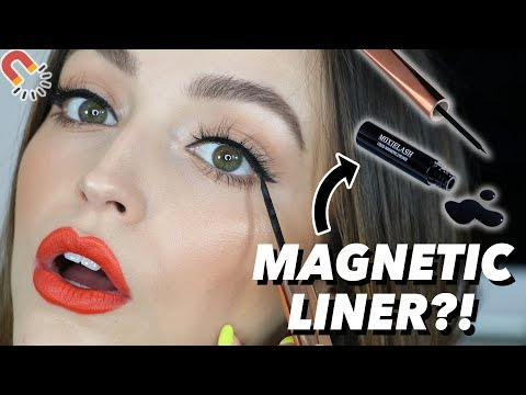 OMG!!! MAGNETIC LINER AND LASHES?!?!?! This is insane!!! thumbnail