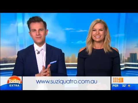 Suzi Quatro - Today Extra interview Nov 2016