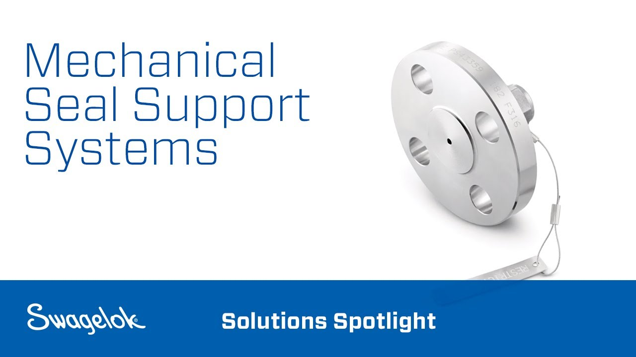 Mechanical Seal Support Systems | Swagelok