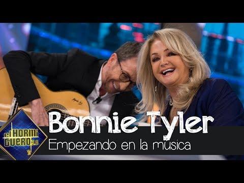 Bonnie Tyler recuerda sus inicios en el mundo de la música - El Hormiguero 3.0