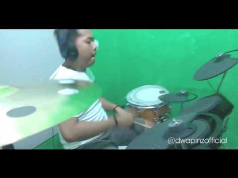 Riza D'WAPINZ-Cinta Tak Pernah Salah (Drum Cover)