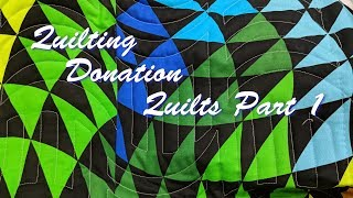 Quilting Donation Quilts Part 1