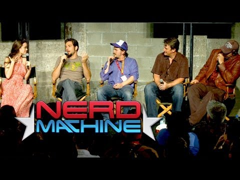 Conversation with the Mystery Panel  Nerd HQ 2012 HD  Summer Glau