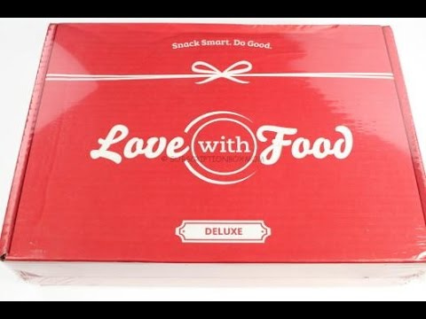 Love with Food Deluxe July 2016 Review/Unboxing + 50% DELUXE COUPON #LOVEWITHFOOD