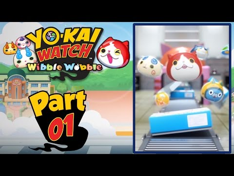 Yo-Kai Watch Wibble Wobble - Part 1 | FREE Mobile App For Android And IOS! [English Gameplay]
