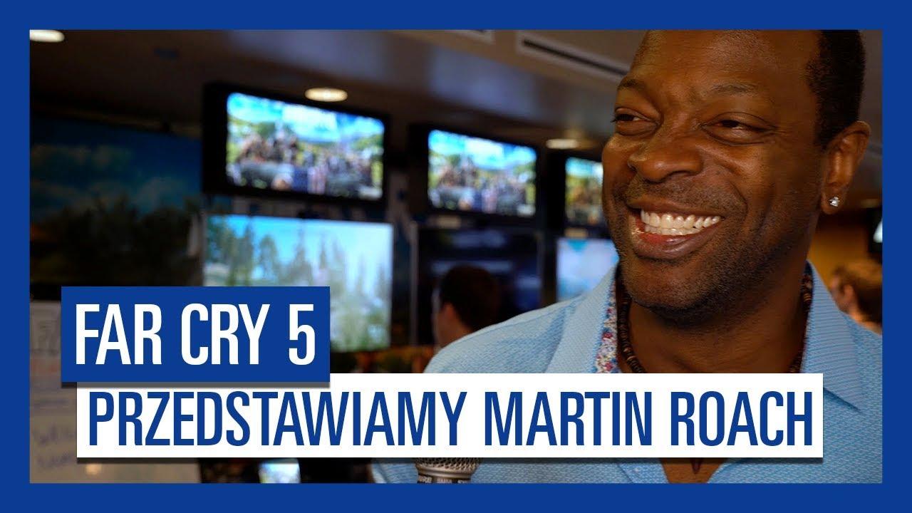 """""""Far Cry 5"""" – Przedstawiamy Martin Roach, głos pastora Jeffriesa"""
