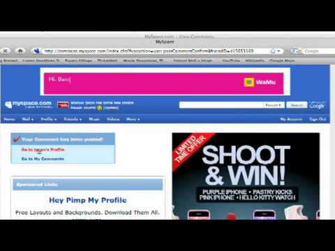 MySpace Profile Set Up Tips : How To Unsend Messages On MySpace