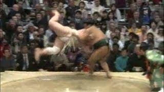 平成25年春場所7日目 sumo takayasu baruto.