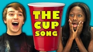 Repeat youtube video TEENS REACT TO THE CUP SONG