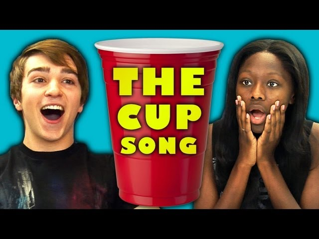 TEENS REACT TO THE CUP SONG Travel Video