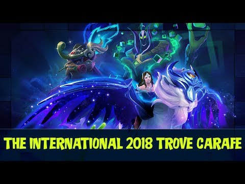 Opening The International 2018 Trove Carafe Treasure   Dota 2