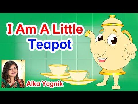 I Am Little Teapot Nursery Rhyme - English...