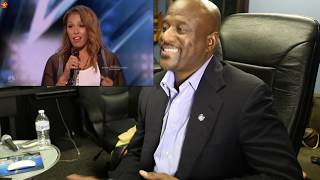 GLENNIS GRACE SINGS RUN TO YOU BY WHITNEY HOUSTON REACTION