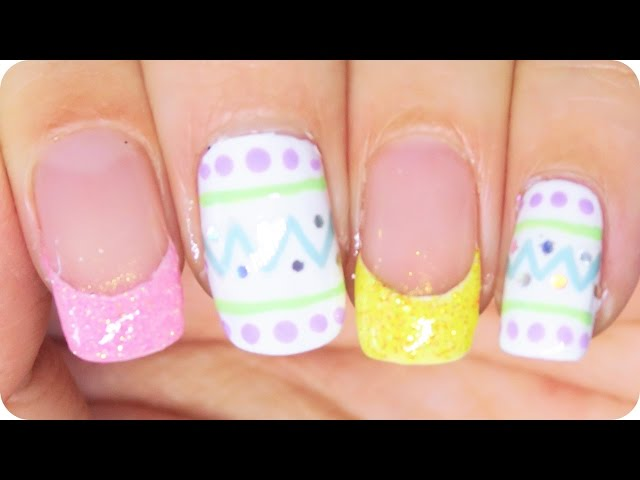 Simple Easter Nail Art - 7 Fresh Nail Tutorials for Easter …