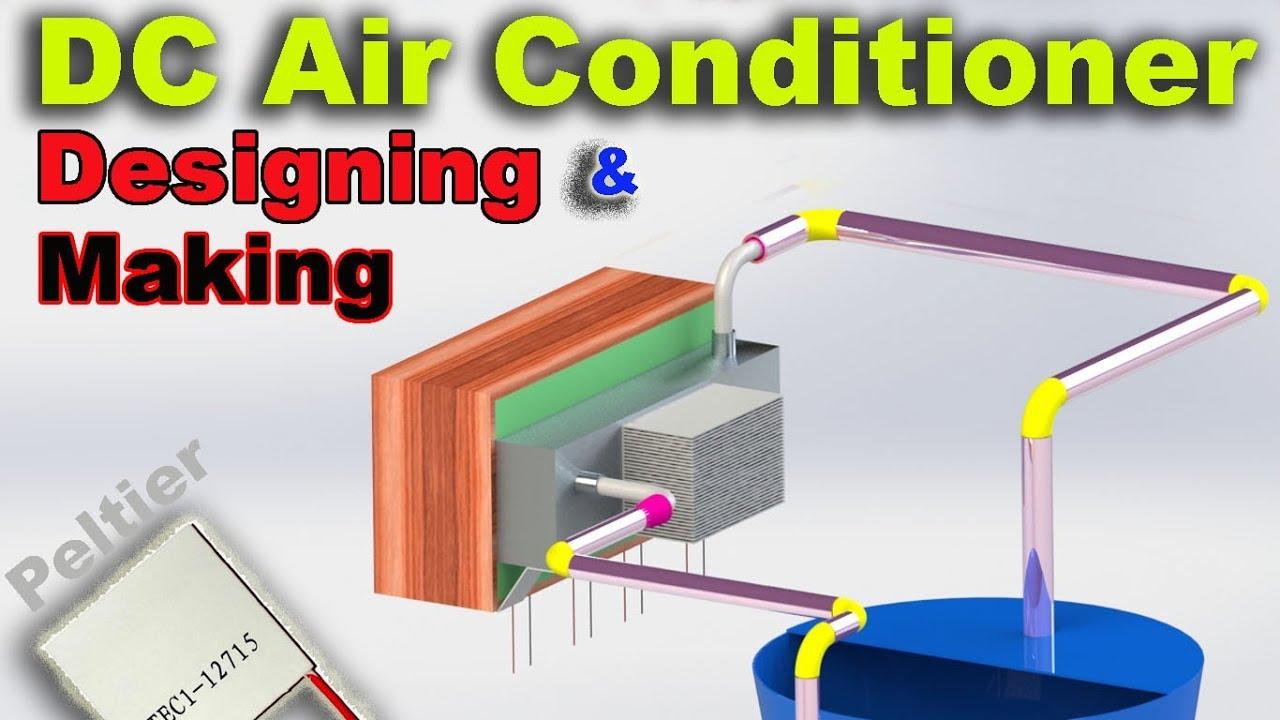 hight resolution of diy peltier based portable air conditioner solar