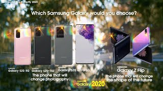 The phone that will change photography and shape of future. which new samsung galaxy s20 would you choose? 🌟🌟🌟🌟🌟🌟🌟🌟🌟🌟🌟🌟🌟🌟🌟...