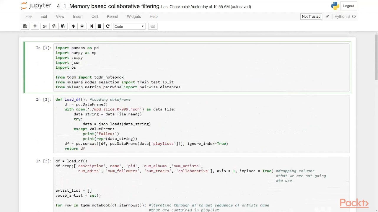 Python Machine Learning Tips, Tricks, and Techniques: Memory-Based  Collaborative Filter|packtpub com